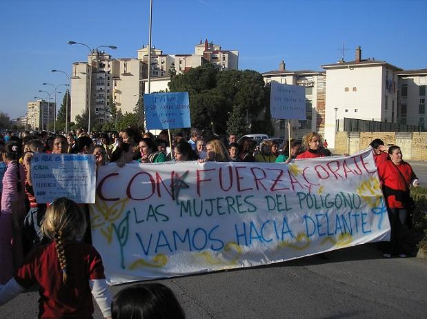 Mujeres de Polígono Sur. Asociación Entre Amigos de Sevilla