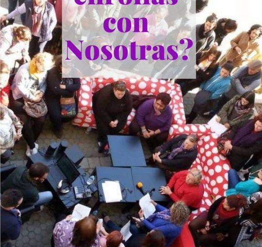 Las mujeres de Radio Abierta hablan de sexualidad en plena Universidad.